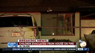 21 people rescued from house fire in El Cajon