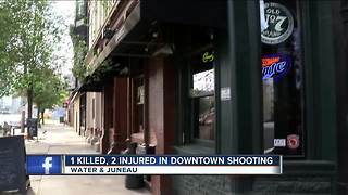 1 dead, 2 hurt in shooting on Water Street - Video