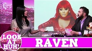 Raven LOOK AT HUH! On Season 2 of Hey Qween with Jonny McGovern - Video