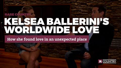 Kelsea Ballerini found love in an unexpected place | Rare Country
