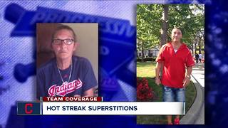 indians streak ashes - Video