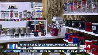 Finding the best bargains at Fleamasters Fleamarket