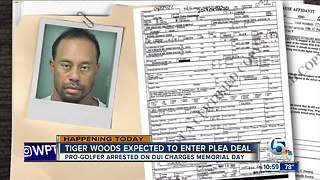 Tiger Woods expected to be in court for DUI plea deal - Video