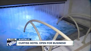 Curtiss Hotel unveils urban hot springs as major attraction - Video