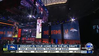 NFL Draft will air Thursday at 6 p.m. on Denver7