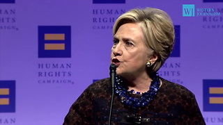 Hillary Clinton Targets Roy Moore And His Supporters For Their 'Bigotry And Hatred' - Video