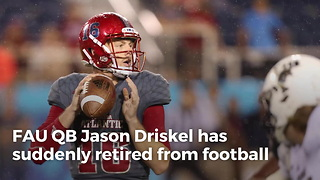 FAU QB Abruptly Quits Football Before Senior Season - Video