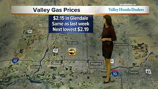 Gas prices rise slightly in Valley - Video
