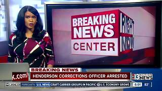 Corrections Officer arrested on domestic battery charges - Video