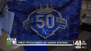 First Pitch Party at Union Station - Video