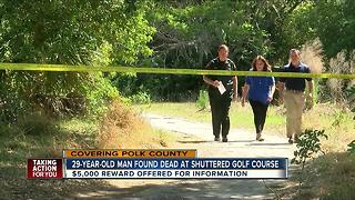 Deputies investigating homicide on golf course - Video