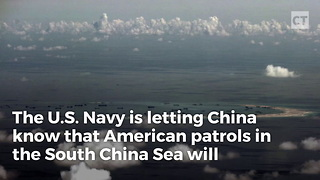 US Navy Sends Chilling Message to China - Video