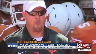 Lincoln Riley, Tom Herman square off in Red River Showdown