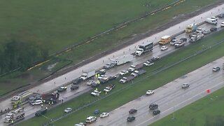 Fatal crash shuts down I-75 SB at Fowler