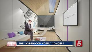 """Hyperloop Hotel"" Concept Includes Music City"