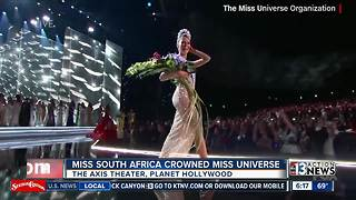 Miss Universe crowned in Las Vegas - Video
