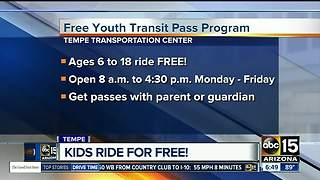 How you child can ride the bus for free - Video
