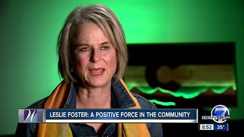 Leslie Foster, Colorado Women's Hall of Fame Class of 2018