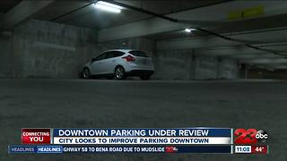 City explores improvements to parking downtown
