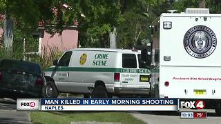Man Killed in Early Morning Shooting - Video
