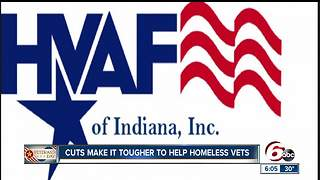 Decreases in federal funding make it tougher to help homeless veterans - Video