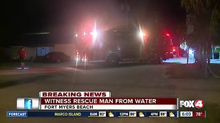 Man pulled from water behind Lani Kai - Video