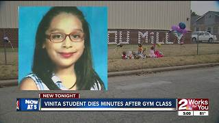 Vinita fourth-grader dies after sudden health issue at school - Video
