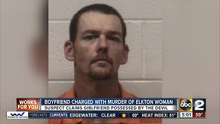 Boyfriend charged with murder of Elkton woman - Video