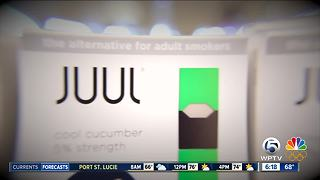 Palm Beach County schools warn parents about 'Juul': E-cigarette looks like USB stick - Video