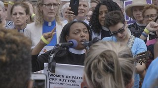 Faith Leaders Led A Prayer Vigil For Families Separated At The Border - Video