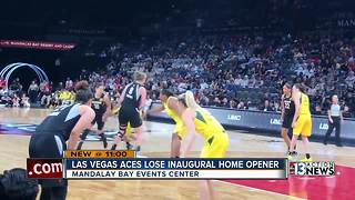 Las Vegas Aces lose first home game