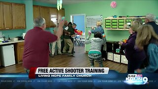 Free active church shooter training held at Living Hope Family Church