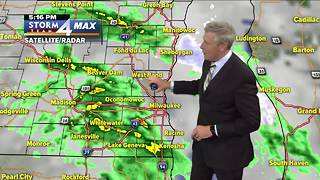 Rain showers on the way before weekend warmup - Video
