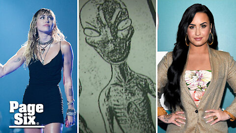 Demi Lovato, Miley Cyrus and more celebrities who believe in aliens