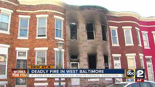 Deadly Fire in West Baltimore