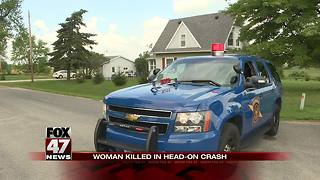 UPDATE: 22-year-old dead after head-on Ionia County crash - Video