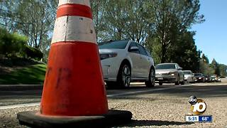 Construction creates traffic nightmare in Carmel Mountain