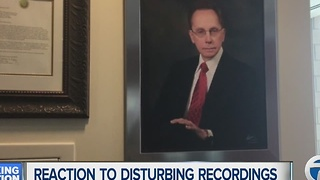 Reaction to disturbing recordings allegedly of Warren Mayor Jim Fouts - Video