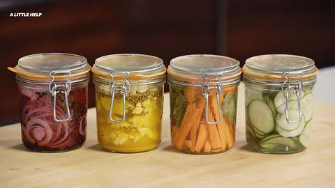 Chef Lee Kalpakis Shows You How to Make Delicious Pickles in an Hour