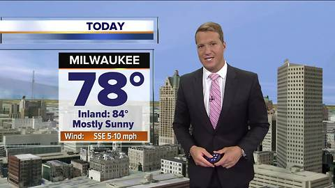 Temperatures heating up Thursday