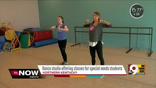 Dance studio offering classes for special needs students