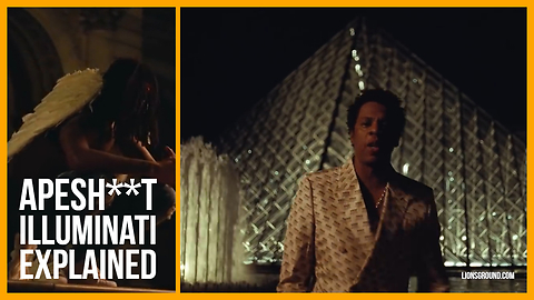 """BEYONCE & JAY-Z (THE CARTERS) - """"APES**T"""" ILLUMINATI EXPOSED?"""