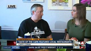 Taste of the Cape features variety of local restaurants - 7:30am live report