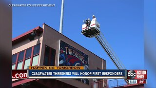 Clearwater Threshers to honor first responders