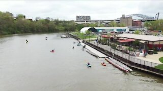 RiverSweep event draws hundreds of volunteers to help keep Cuyahoga River clean