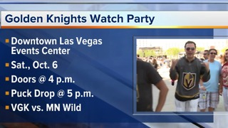 Vegas Golden Knights watch Party