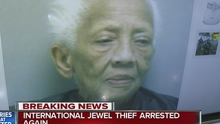 86-year-old jewel thief arrested again - Video