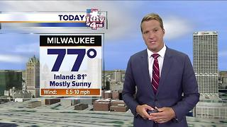 Meteorologist Brian Niznansky's Stormteam 4cast on Live at Daybreak. - Video
