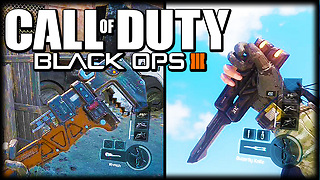 Black Ops 3: Butterfly knife & wrench gameplay footage