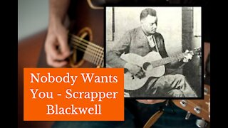 Nobody Wants You When You're Down and Out - Blues Guitar Lesson